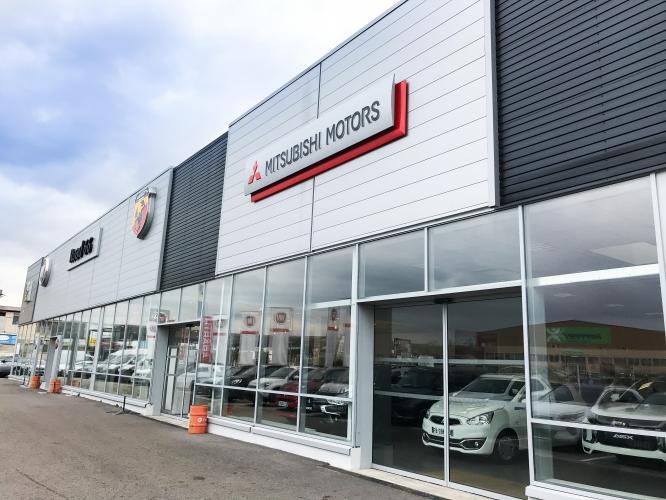 Mitsubishi Vitrolles Cité de l'Auto Road 66